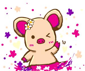 Cute pig girl