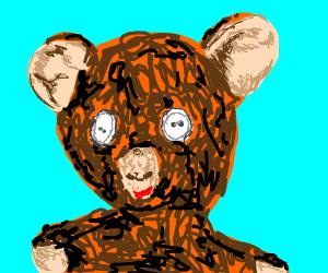 button eye teddy bear