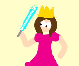 lightsaber weilding princess