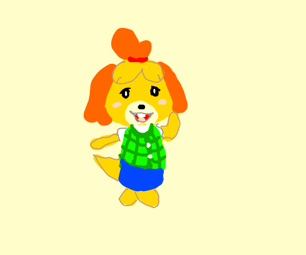 isabelle! (acnl)