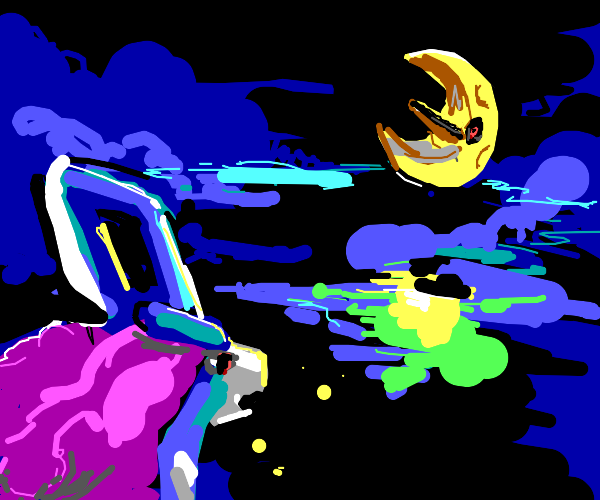 Suicune and the Moon