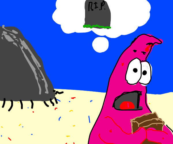 Patrick thinks about death