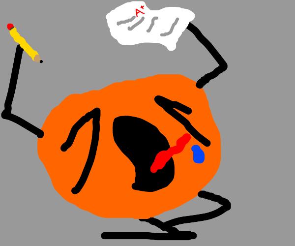 Sentient orange aces a test