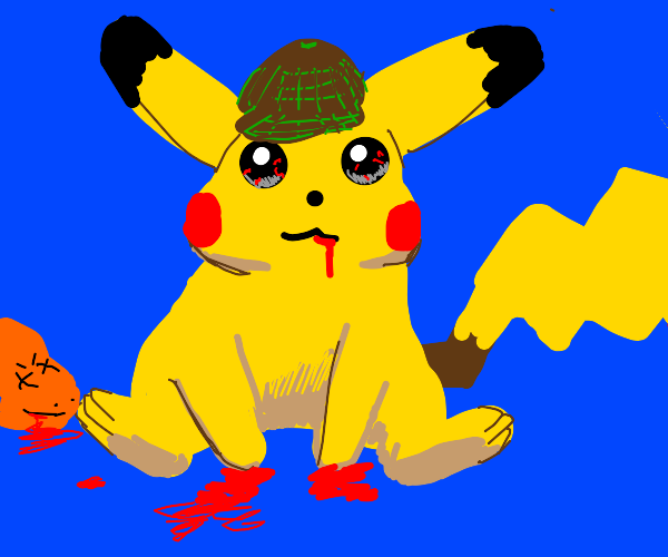 Who is that Pokemon? Its Pikachu! f###!