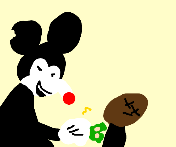 mickey mouse says freedom by buying disney+