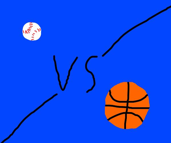 baseball vs basketball