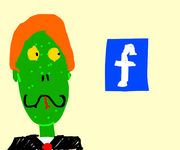 Mark Zuckerberg smiles at Facebook