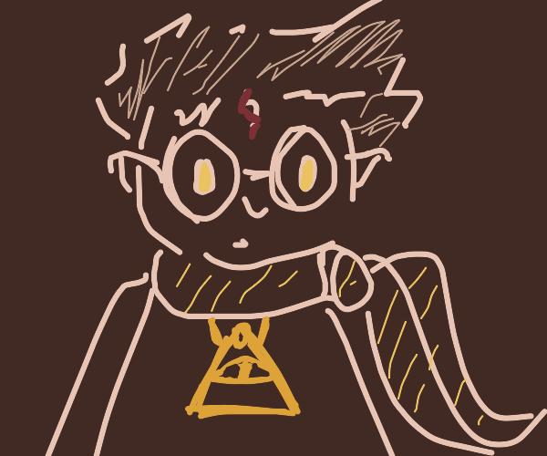 harry potter joins the Illuminati