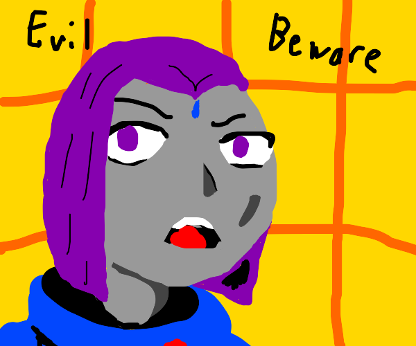 raven tells you to beware bc there is evil