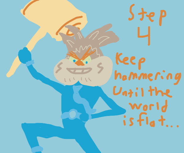 Step 3: when in doubt: hammer it out