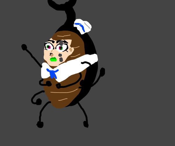 Josuke but hes a beetle