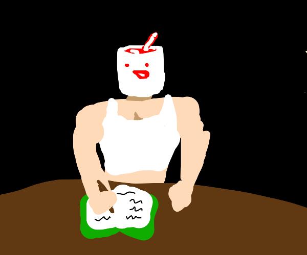 drawfee doing homework