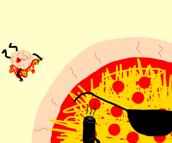 cool pizza up to no good