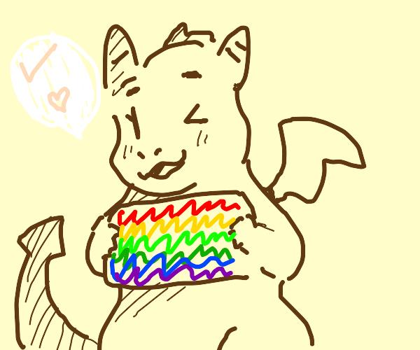 Dragon says gay rights