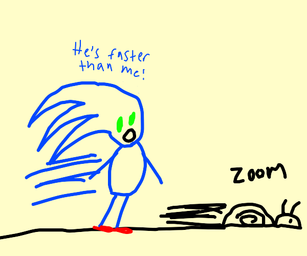 snail is faster than sonic