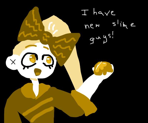 a girl named jojo has new slime