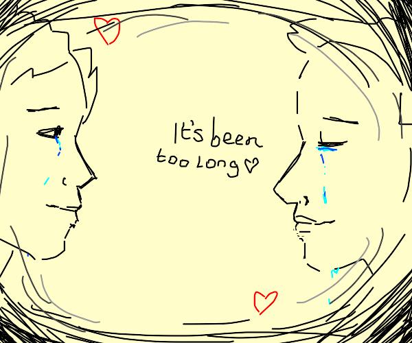 Lovers reunite