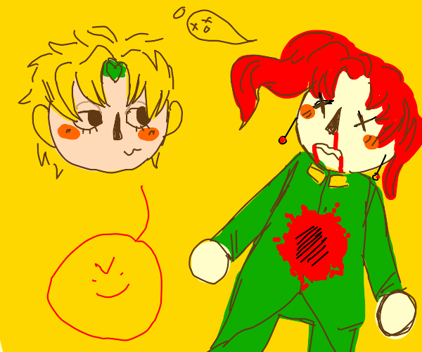 Animal Crossing Dio just donuted Kakyoin