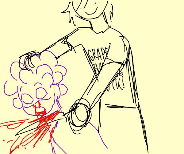 haters decapitate Mineta (My Hero Academia)