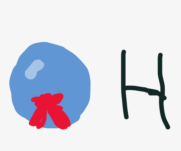 water bubble is wearing a Christmas bow and h