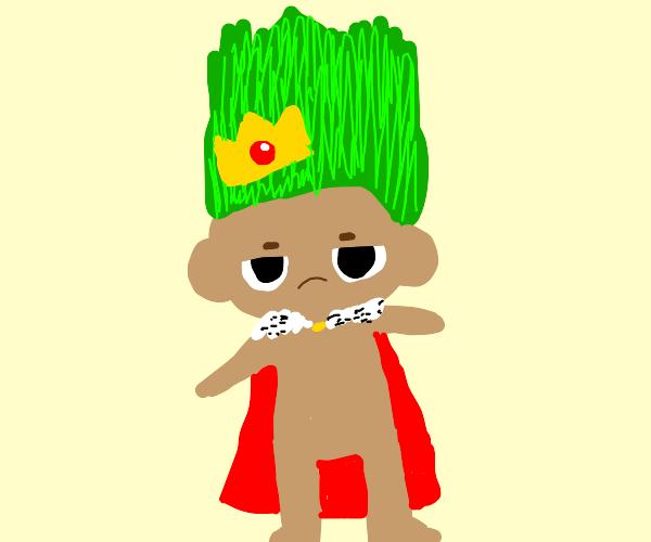 Green troll is king