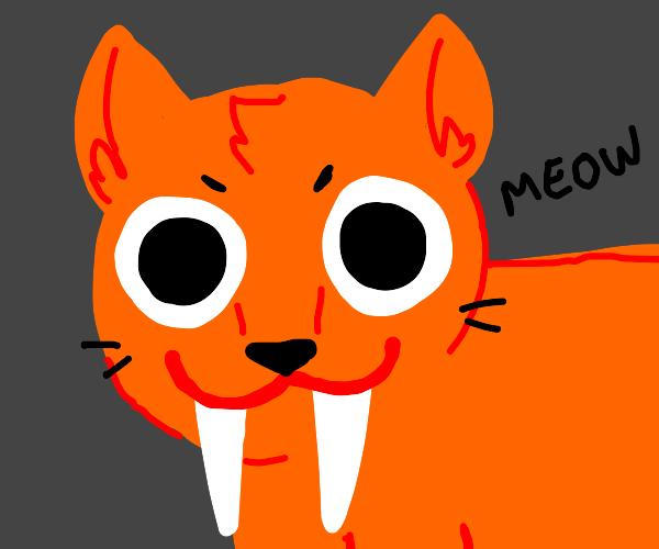 Huge Saber-toothed Cat