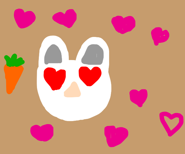 bunny falls in love with a carrot
