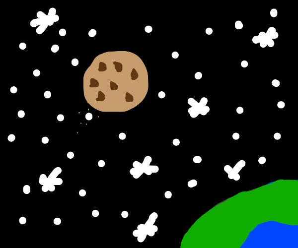 Cookie in space