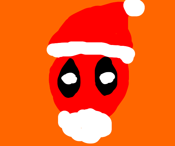 Deadpool becomes Santa