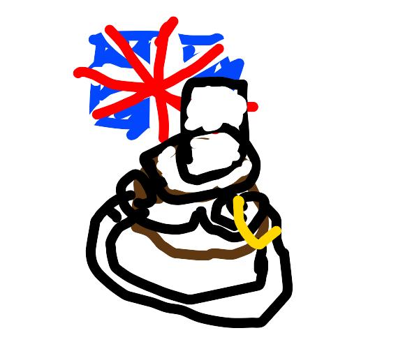 British molten lava cake