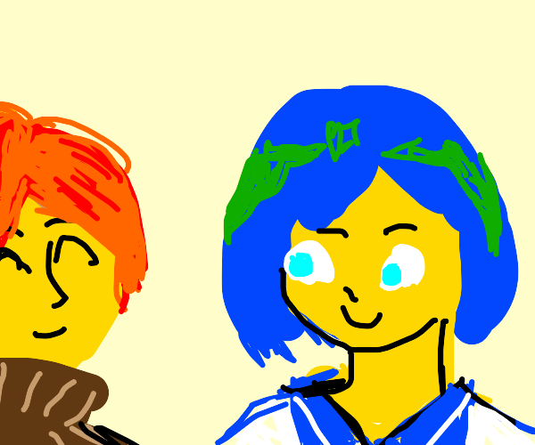 Earth-Chan and Sun-Kun