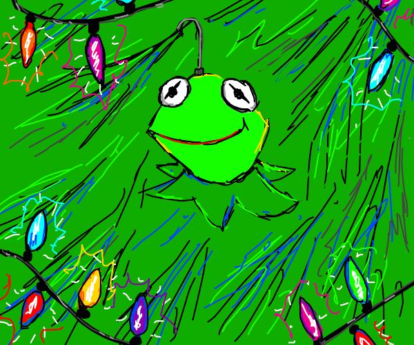 Kermit's head hanging