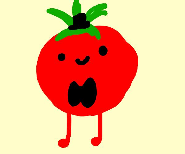 handsome happy tomato :) i like him