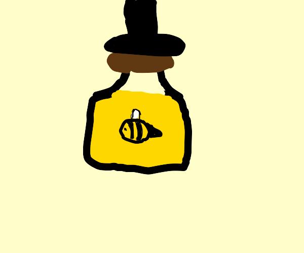 Honey wearing a Top Hat