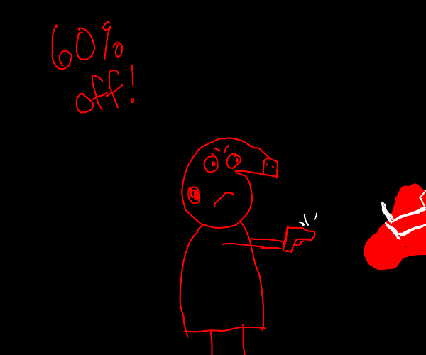 Peppa is a hitman 60 percent off for hire