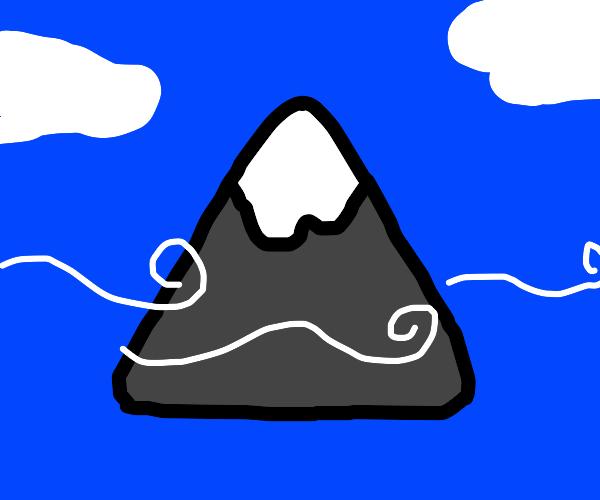 Floating mountain