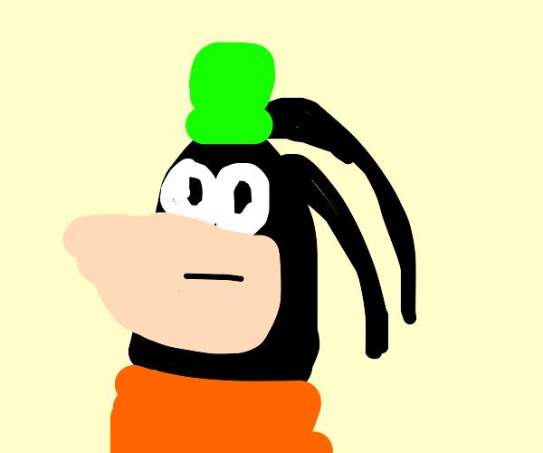 goofy has no nose
