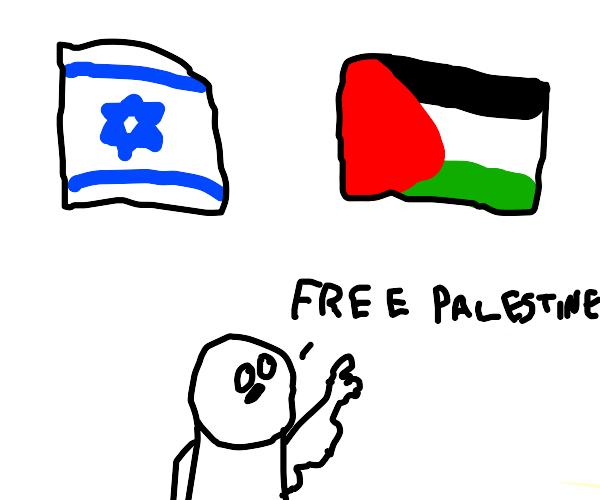 """Israel & Palestine flag """"legit?"""""""