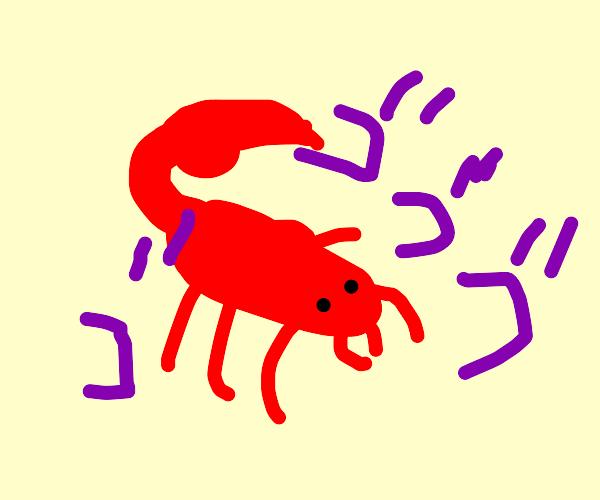 menacing scorpion