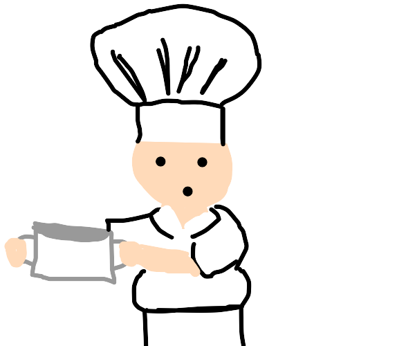 A Chef with a Pot
