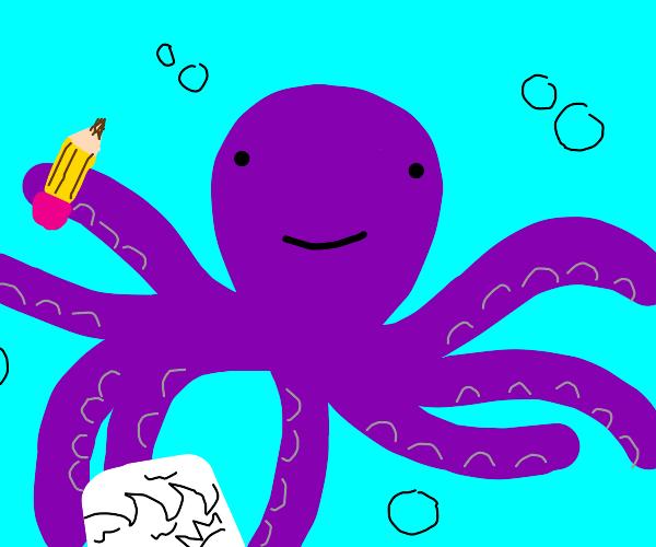 Octopus Sketching