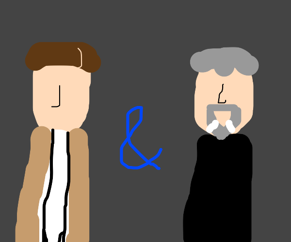 The Doctor and The Master