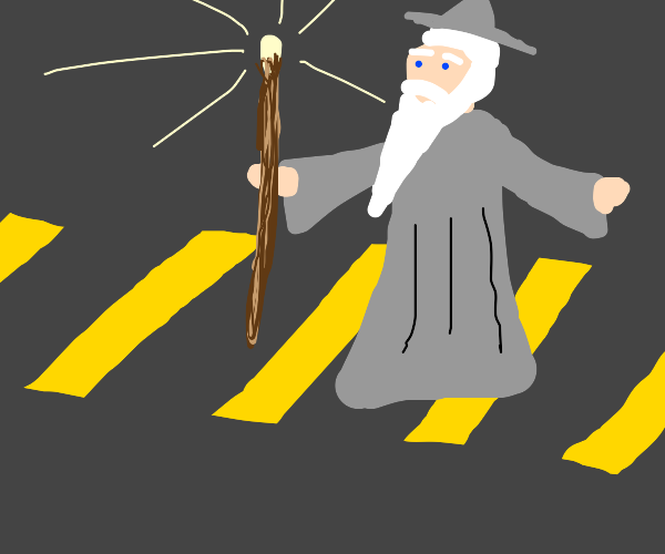 Lord of the Crosswalk