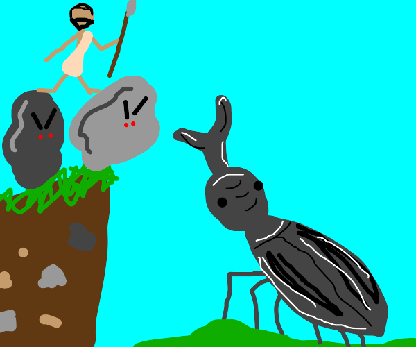 Ice ace savage & angry rocks vs. stag beetle