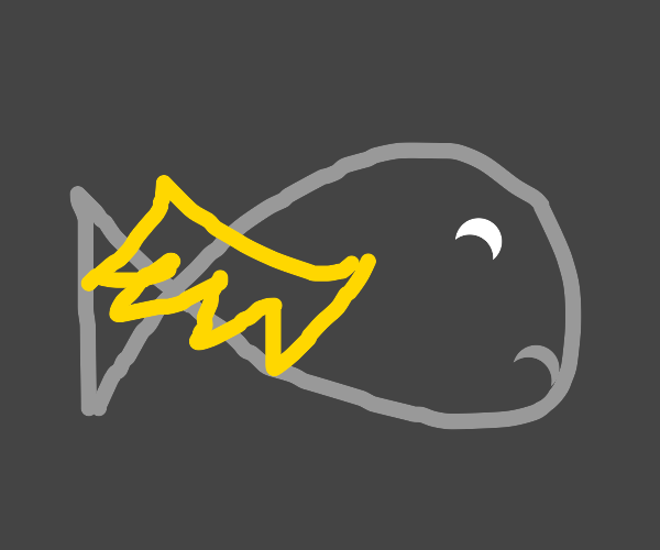 fish bird hybrid wants to die