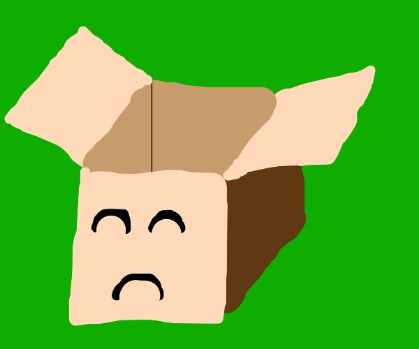 Box is depressed