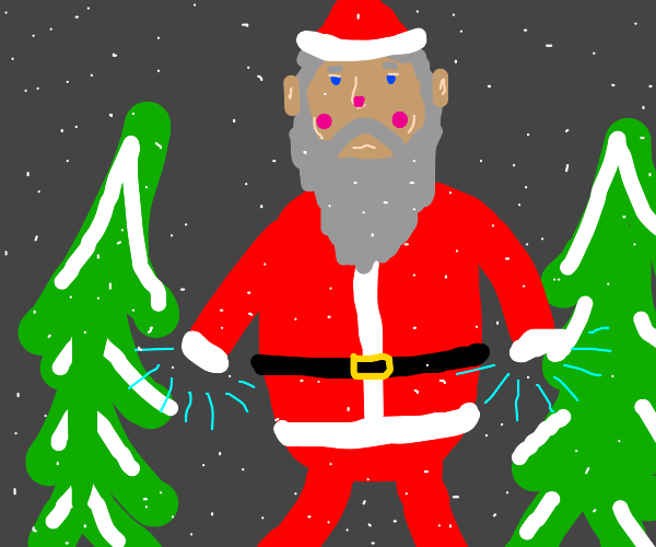 Santa without hands