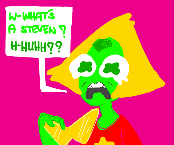Peridot doesn't know what a Steven is.