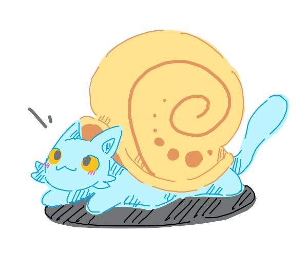 snail kitten
