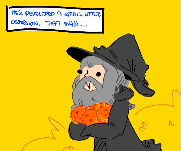 Gandalf has the Dragon Balls